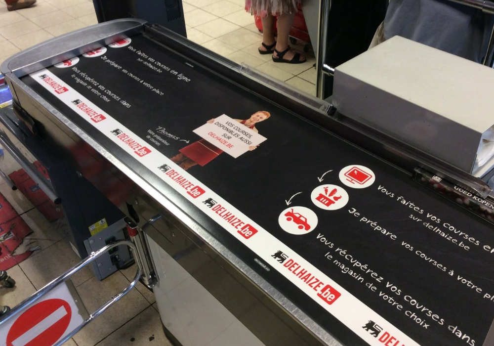 In store communication for retailers and their partners